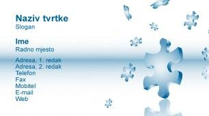#157389 predložak posjetnice supply chain / logistika